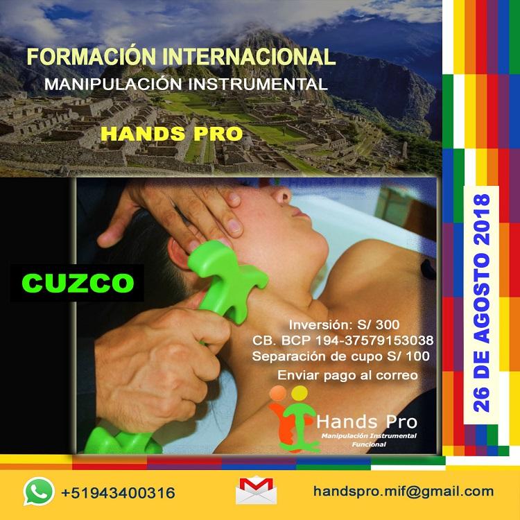 FORMACIONES HANDS PRO CUZCO