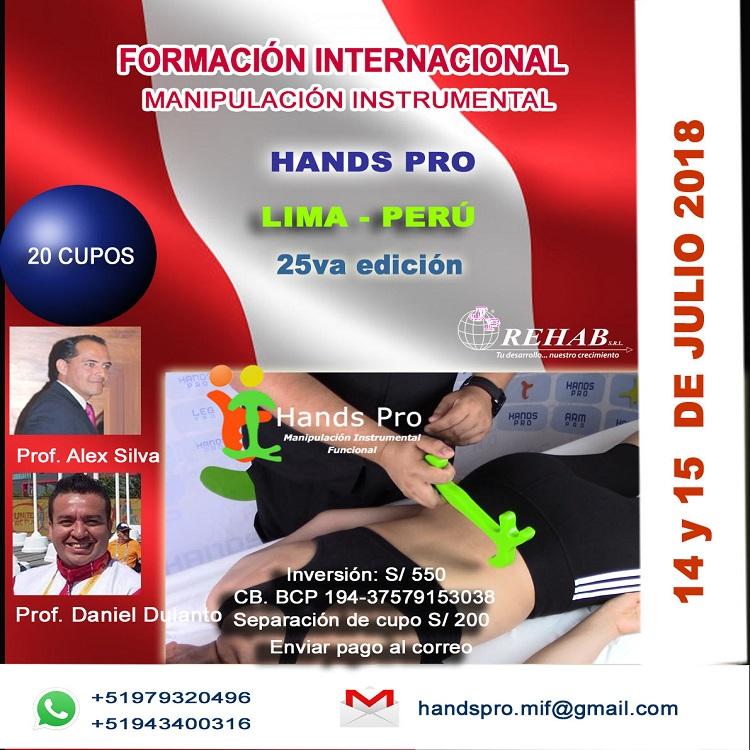 HANDS PRO JULIO 2018